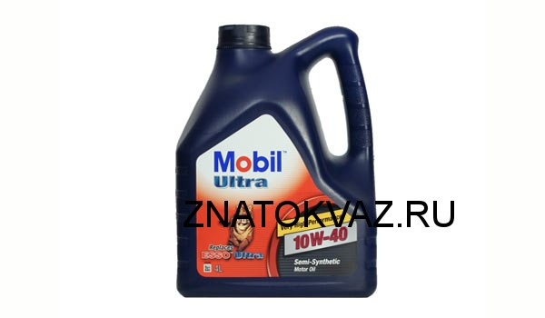 зимнее масло MobilUltra