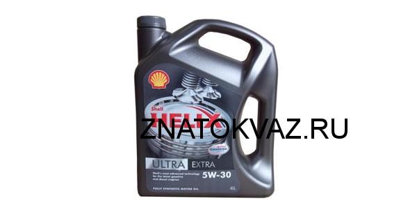лучшее масло Shell Helix Ultra Extra
