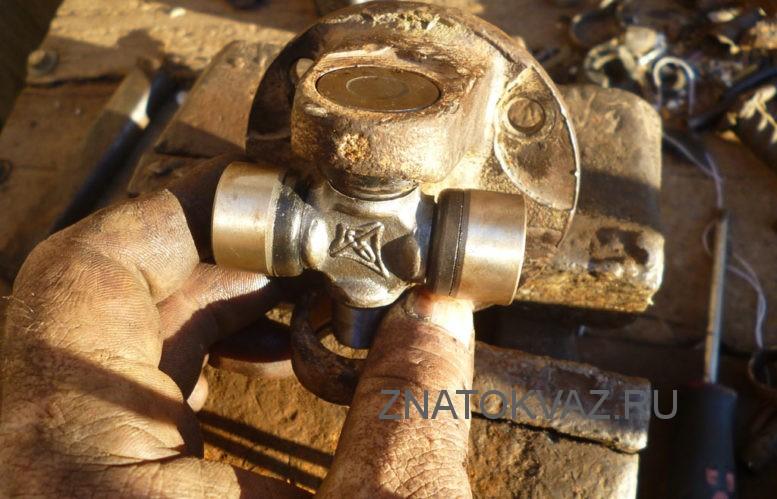 ремонт крестовины карданного вала