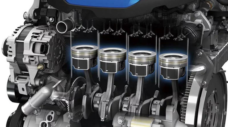 очищаем двигатель и увеличиваем компрессию