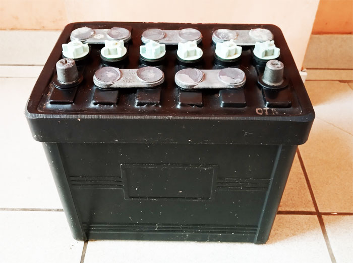 Отечественный аккумулятор из ссср